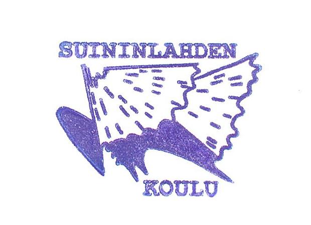 Suinilahden koulun logo.